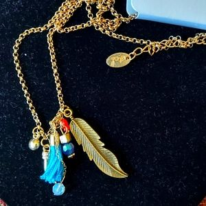 3/$15 Nadine West charm pendant necklace